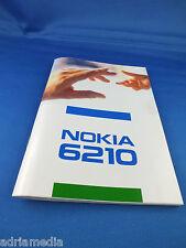 Original Nokia 6210 Bedienungsanleitung NEU für Autotelefon BMW Audi Mercedes VW