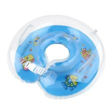 Baby Aids Infant Swimming Neck Float Inflatable Tube Ring Safety New Neck BE