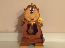 Disney Parks Beauty & The Beast Clock Cogsworth Figurine Figure IN HAND (NEW)