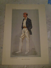 VANITY FAIR PRINT CRICKET REPTON OXFORD & SOMERSET