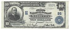 $10 The First NB Of Marietta PA Ch# 25 Serial # 16154 1902 PB Lancaster Co. Lg