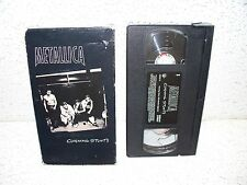 Metallica Cunning Stunts VHS Video Out of Print