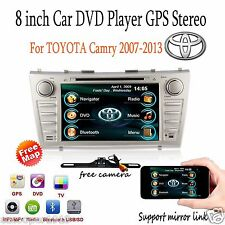 For Toyota Camry 2008-2011 Car DVD Player GPS Navigation Bluetooth Radio Stereo
