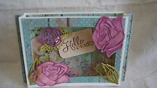 ROSE AND LEAVES THINLIT - 3 Dies - New!  Never Used! Cuttlebug Big Shot