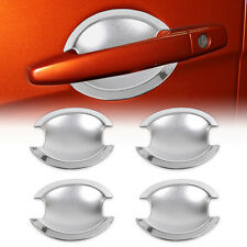 4x CHROME DOOR HANDLE BOWL COVER TRIM for Mitsubishi Outlander Sport RVR Lancer