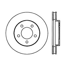 Disc Brake Rotor-High Performance Slotted Centric fits 05-08 Ford Mustang