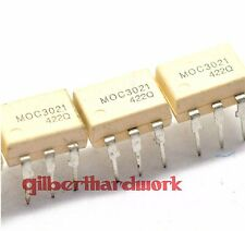 10*Photoelectric coupling MOC3021 Transistor output DIP-6 straight pin