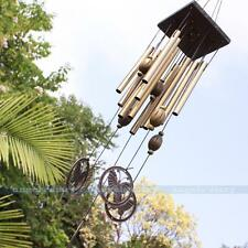 Amazing Gift Wind Chimes 12 Metal Tubes Yard Garden Outdoor Living Home Decor