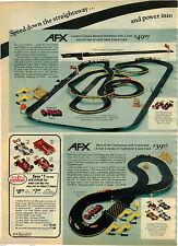 1976 PAPER AD 2 Pg Raceway AFX Penske Meadowbrook G-Plus Magna Traction Champion