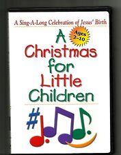 CHRISTMAS FOR LITTLE CHILDREN (2000s, DVD) 10 Songs 3 Stories