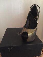 giuseppe Zanotti Gold Women's Shoes 8.5
