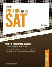 Master Writing for the SAT: What You Need for Test Success (Peterson's Master Wr