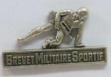 GS127 - Brevet  Militaire Sportif -  classe Argent   -