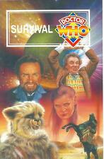Doctor Who Survival BBC Video Postcard  Sylvester McCoy