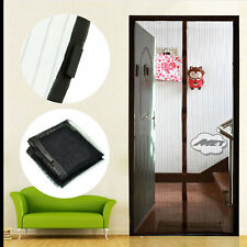 Hot Magic Mesh Magnetic Door Curtain Hands Free Fly Mosquito Bug Insect Screen