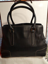 COACH HAMPTON TOTE - BLACK - RARE FIND - GREAT BAG FOR EVERYDAY!!