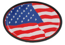 New Trailer Hitch Cover USA United States Flag 3 1/2 x 5 Made in the USA