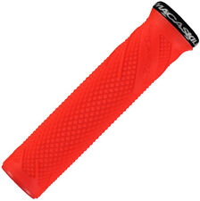 Lizard Skins Danny Macaskill Lock-On MTB Mountain Bike MTB Grips - Fire Red