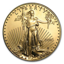 2001 1 oz Gold American Eagle Coin - SKU #7655