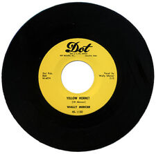 "WALLY MERCER  ""YELLOW HORNET c/w ROCK AROUND THE CLOCK""   CLASSIC R&B    LISTEN!"