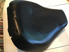 USED HARLEY DAVIDSON DYNA SOLO SEAT WITH PASSENGER PAD 08-LATER