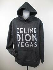 NEW Celine Dion Vegas WOMENS Size XL XLarge Black/Silver Hoodie