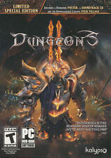 DUNGEONS 2 II - Special Limited Edition - Dungeon Keeper Remake PC Game - NEW!