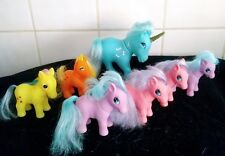 My little pony style totsy unicorn blue and others 80s retro vintage collectable