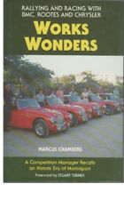 WORKS WONDERS RALLYING RACING BMC AUSTIN HEALEY MG COMPETITION LE MANS SEBRING