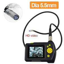 "2.7"" TFT LCD Video Borescope Car Pipe Inspection Camera Endoscope 360° Rotation"