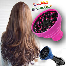 Foldable Hairdressing Stretch Curly Hair Blow Dryer Diffuser Salon Barber Tool B