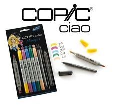 Copic ciao 5+1, manga set 1-art graphique marqueurs - 5 marqueurs + 0.3 multiliner