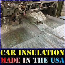 300 Sqft Thermal Sound Deadener - Block Heat & Sound - Automotive Car Insulation