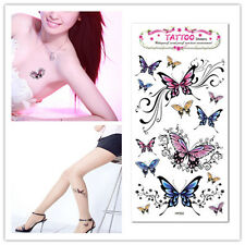 Fashion Butterfly Tattoo Removable Waterproof Stickers Body Art Tatoo Stickers