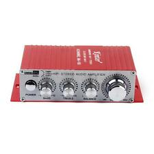 MINI AUTO MOTO MP3 MP4 HI-FI STEREO AUDIO AMP AMPLIFICATORE CON USB OUTPUT