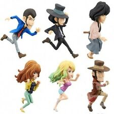 Lupin The Third World Collectable Figure WCF (Set of 6) 7cm BANP36595 US Seller