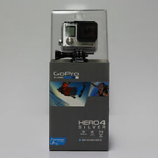 NEW GoPro HD HERO 4 Silver Edition LCD Screen Genuine Go Pro Helmet Video Camera