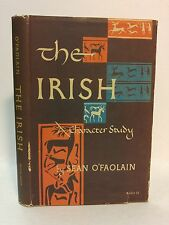 Sean O'Faolain THE IRISH A Character Study hb/dj First Edition