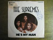 THE SUPREMES 45 TOURS GERMANY HE'S MY MAN MOTOWN