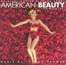 AMERICAN BEAUTY Original Motion Picture Score CD, 2000, VG, Thomas Newman