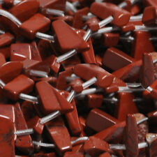 "RED JASPER LONG CHIP STICK BEADS 15"" AA+ chips"