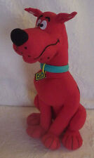 "Scooby Doo Red Sugar Loaf Stuffed Animal Plush Toy Sitting 13"" Tall"