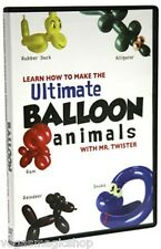 Ultimate Balloon Animals & More DVD - 3 Twisting & Sculpting Videos in 1