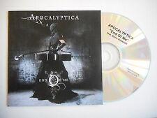 APOCALYPTICA : END OF ME [ CD SINGLE PROMO PORT GRATUIT ]