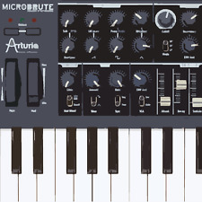 Arturia MICROBRUTE Analogue Monophonic Synthesizer - Sample Pack