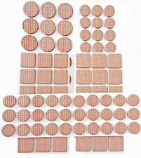 120pcs anti-dérapant furniture leg pads brown chaise table protector coussin assortis