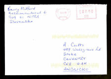 Slovakia 2010 Airmail Cover To UK #C1365
