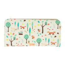 Animal Themed Bifold Women's Wallet / Ladies Woodland Animals Fox Purse Gift