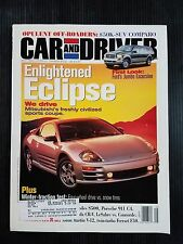 Car & Driver May 1999 - Ford Excursion - 2000 Mitsubishi Eclipse - Plymouth Neon