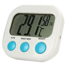 LCD Digital Thermometer Hygrometer Temperature Humidity Monitor Indoor / Outdoor